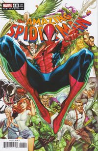 Cover Thumbnail for Amazing Spider-Man (Marvel, 2018 series) #49 (850) [Variant Edition - J. Scott Campbell Cover]