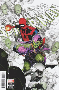 Cover Thumbnail for Amazing Spider-Man (Marvel, 2018 series) #49 (850) [Variant Edition - Chris Bachalo Cover]