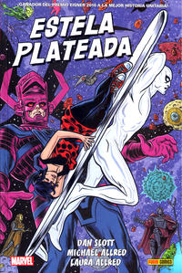 Cover Thumbnail for Marvel Omnibus. Estela Plateada de Dan Slott y Mike Allred (Panini España, 2020 series)