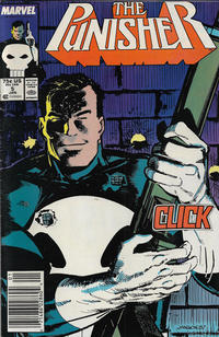 Cover Thumbnail for The Punisher (Marvel, 1987 series) #5 [Newsstand]