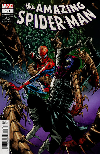 Cover for Amazing Spider-Man (Marvel, 2018 series) #53 (854) [Variant Edition - Humberto Ramos Cover]