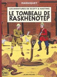 Cover Thumbnail for Les aventures de Scott & Hasting (Albin Michel, 2001 series) #1 - Le tombeau de Raskhenotep