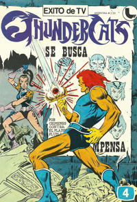 Cover Thumbnail for Thundercats (Ledafilms SA, 1987 ? series) #4