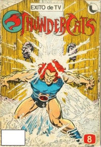 Cover Thumbnail for Thundercats (Ledafilms SA, 1987 ? series) #8
