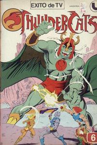 Cover Thumbnail for Thundercats (Ledafilms SA, 1987 ? series) #6