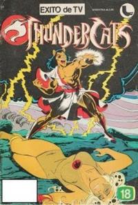 Cover Thumbnail for Thundercats (Ledafilms SA, 1987 ? series) #18