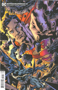 Cover Thumbnail for Batman / Superman (DC, 2019 series) #14 [Bryan Hitch Variant Cover]