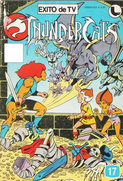Cover for Thundercats (Ledafilms SA, 1987 ? series) #17