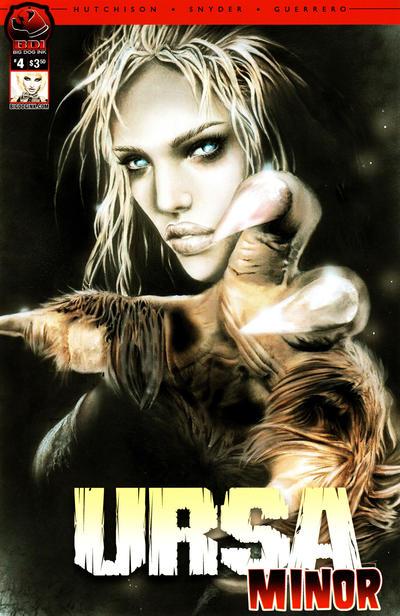 Cover for Ursa Minor (Big Dog Ink, 2012 series) #4 [Cover B - Natali Sanders]
