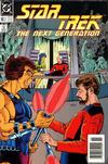 Cover for Star Trek: The Next Generation (DC, 1989 series) #2 [Newsstand Variant]