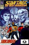 Cover for Star Trek: The Next Generation (DC, 1989 series) #22 [Direct]