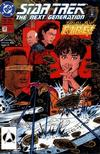 Cover for Star Trek: The Next Generation (DC, 1989 series) #32 [Direct]