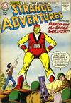 Cover for Strange Adventures (DC, 1950 series) #122