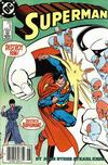 Cover for Superman (DC, 1987 series) #6 [Newsstand Edition]