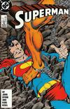 Cover for Superman (DC, 1987 series) #7 [Direct]