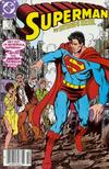 Cover for Superman (DC, 1987 series) #10 [Newsstand Edition]