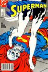 Cover for Superman (DC, 1987 series) #17 [Newsstand Edition]