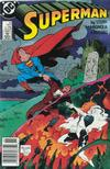 Cover for Superman (DC, 1987 series) #23 [Newsstand]