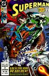 Cover for Superman (DC, 1987 series) #43 [Direct]