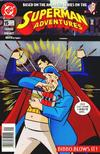 Cover for Superman Adventures (DC, 1996 series) #15 [Direct Sales]