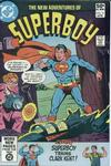 Cover for The New Adventures of Superboy (DC, 1980 series) #16 [Direct]