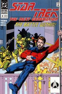 Cover Thumbnail for Star Trek: The Next Generation (DC, 1989 series) #8