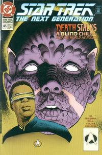 Cover Thumbnail for Star Trek: The Next Generation (DC, 1989 series) #45