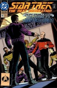 Cover Thumbnail for Star Trek: The Next Generation (DC, 1989 series) #47 [Direct]