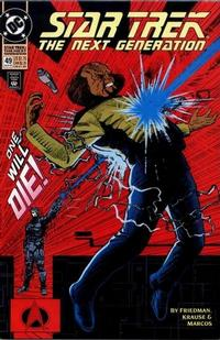 Cover Thumbnail for Star Trek: The Next Generation (DC, 1989 series) #49