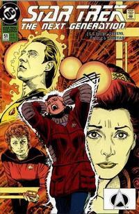 Cover Thumbnail for Star Trek: The Next Generation (DC, 1989 series) #51