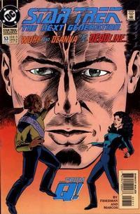 Cover Thumbnail for Star Trek: The Next Generation (DC, 1989 series) #53