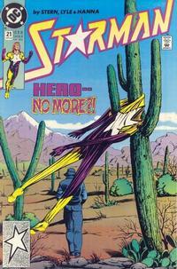 Cover Thumbnail for Starman (DC, 1988 series) #21