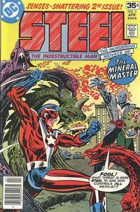 Cover Thumbnail for Steel, the Indestructible Man (DC, 1978 series) #2