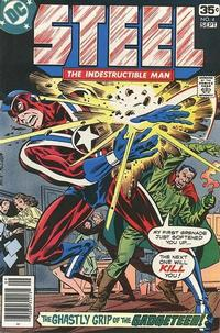 Cover for Steel, the Indestructible Man (DC, 1978 series) #4