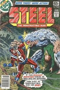 Cover Thumbnail for Steel, the Indestructible Man (DC, 1978 series) #5
