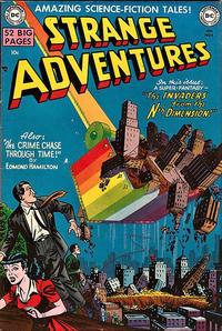 Cover Thumbnail for Strange Adventures (DC, 1950 series) #4