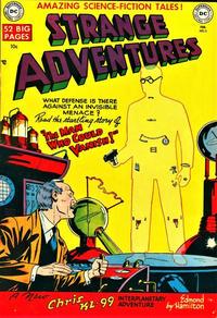 Cover Thumbnail for Strange Adventures (DC, 1950 series) #5