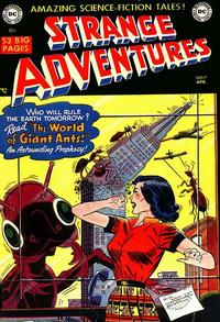 Cover Thumbnail for Strange Adventures (DC, 1950 series) #7