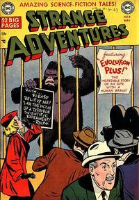 Cover Thumbnail for Strange Adventures (DC, 1950 series) #8