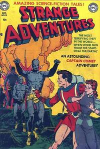 Cover Thumbnail for Strange Adventures (DC, 1950 series) #13