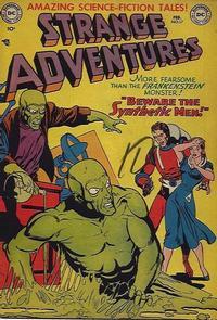 Cover Thumbnail for Strange Adventures (DC, 1950 series) #17