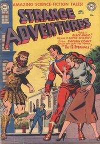 Cover Thumbnail for Strange Adventures (DC, 1950 series) #19