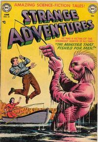 Cover for Strange Adventures (DC, 1950 series) #21