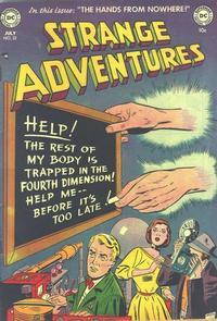 Cover Thumbnail for Strange Adventures (DC, 1950 series) #22
