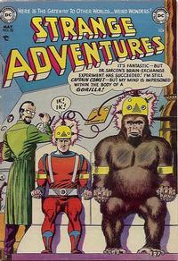 Cover Thumbnail for Strange Adventures (DC, 1950 series) #32