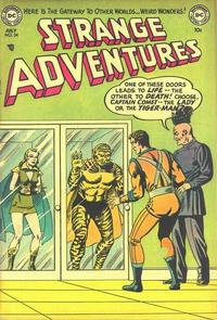 Cover Thumbnail for Strange Adventures (DC, 1950 series) #34