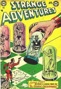 Cover Thumbnail for Strange Adventures (DC, 1950 series) #35