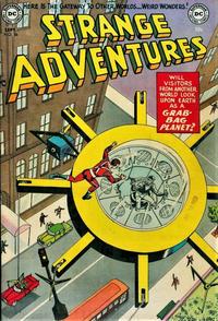 Cover Thumbnail for Strange Adventures (DC, 1950 series) #36