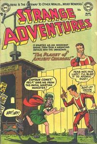 Cover Thumbnail for Strange Adventures (DC, 1950 series) #42