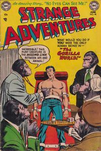 Cover Thumbnail for Strange Adventures (DC, 1950 series) #45